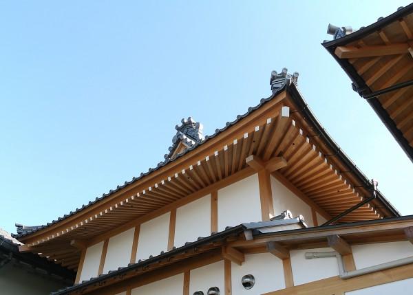 3-1本正寺客殿 上層扇垂木
