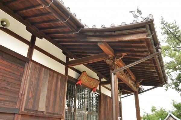 瀬居八幡宮拝殿4