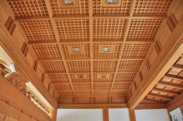 日枝神社幣殿 内部