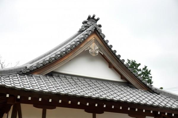 神野神社拝殿妻壁