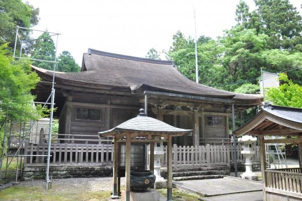 豊楽寺薬師堂メイン