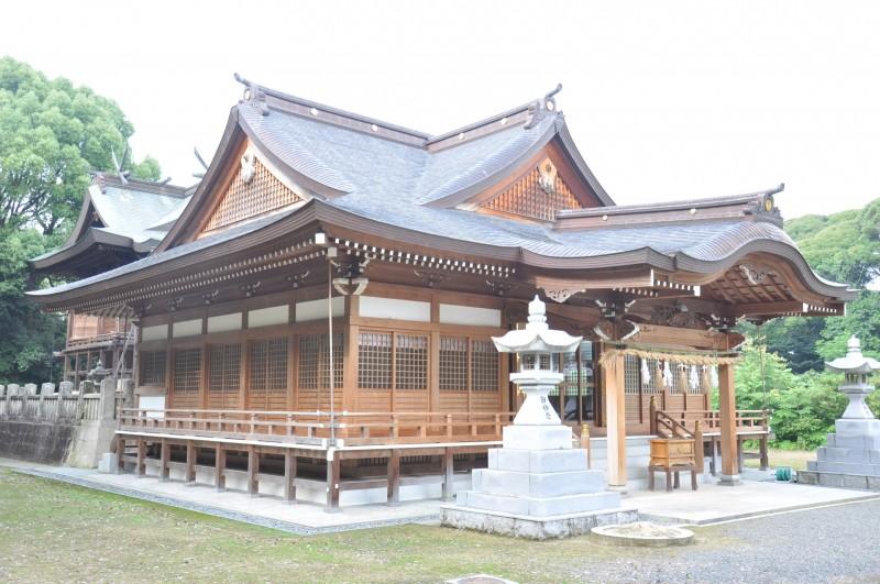 菅生神社拝殿メイン