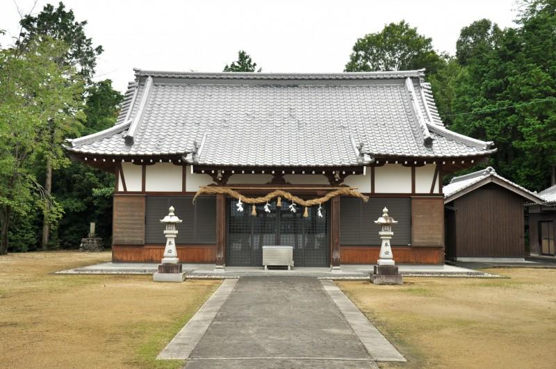 神野神社拝殿正面