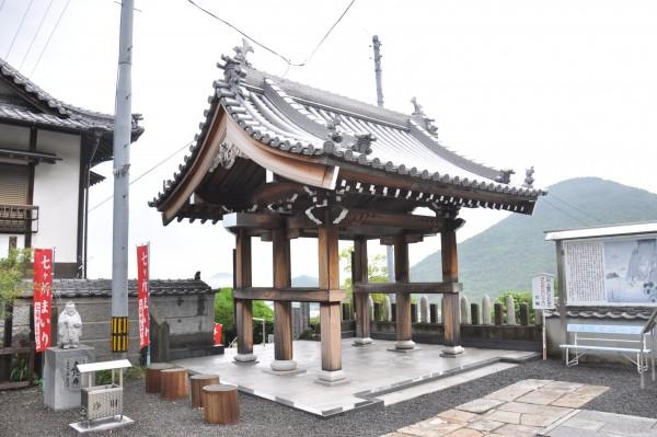 2出釈迦寺山門境内側外観