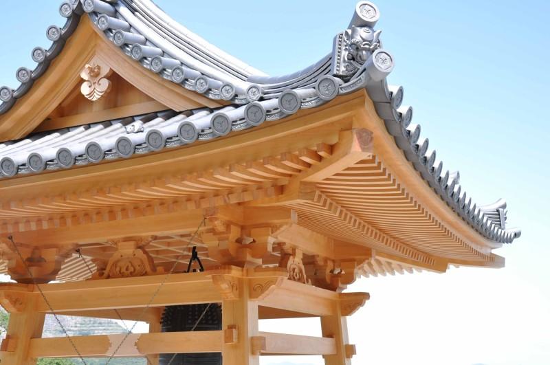 4 出釈迦寺鐘楼