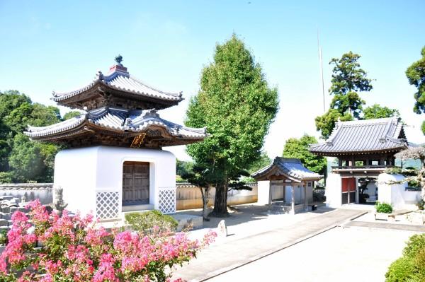 2 長福寺経蔵竣工
